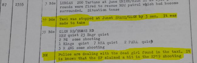 Brigade Major and Jean Smyth's murder