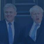 BritGov Brandon Lewis and Boris Johnson