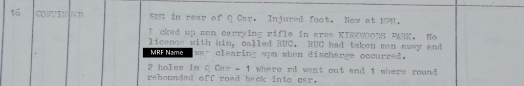MRF Accidental Discharge 17th April 1972 (2)