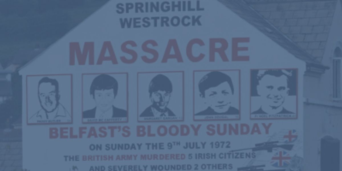 Springhill Westrock Massacre July 9th 1972