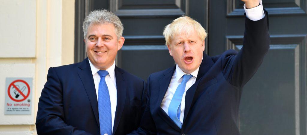 Brandon Lewis, Boris Johnson and the MRF
