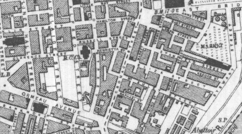 The Killing of Joseph Downey - Map of the Market
